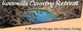 Koomulla Country Retreat - Accommodation Great Ocean Road