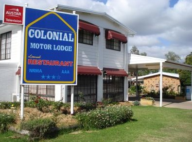 Colonial Motor Lodge - Accommodation Great Ocean Road