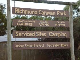 Richmond Cabin  Tourist Park - Accommodation Great Ocean Road