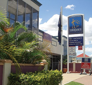 Sundowner Chain Motor Inn Rockhampton - Accommodation Great Ocean Road