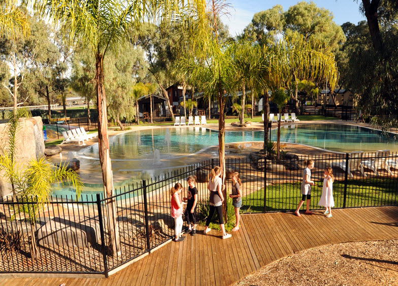BIG4 Renmark Riverfront Caravan Park - Accommodation Great Ocean Road