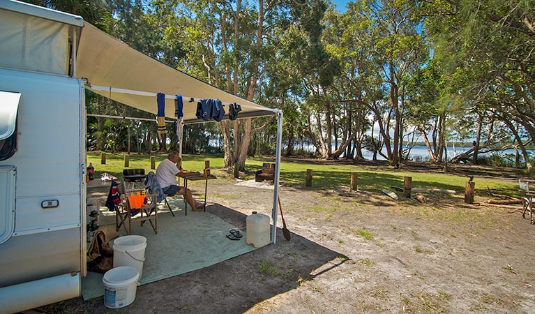 Dees Corner campground - Accommodation Great Ocean Road