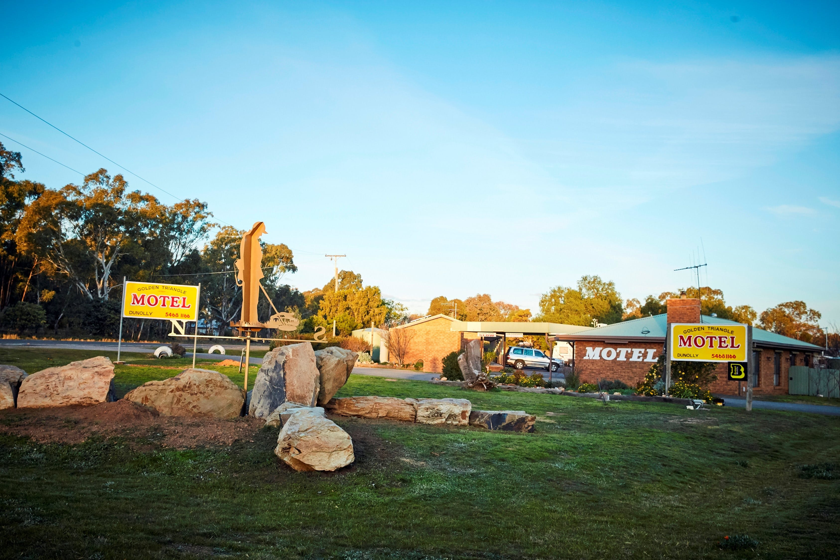 Dunolly Golden Triangle Motel - Accommodation Great Ocean Road