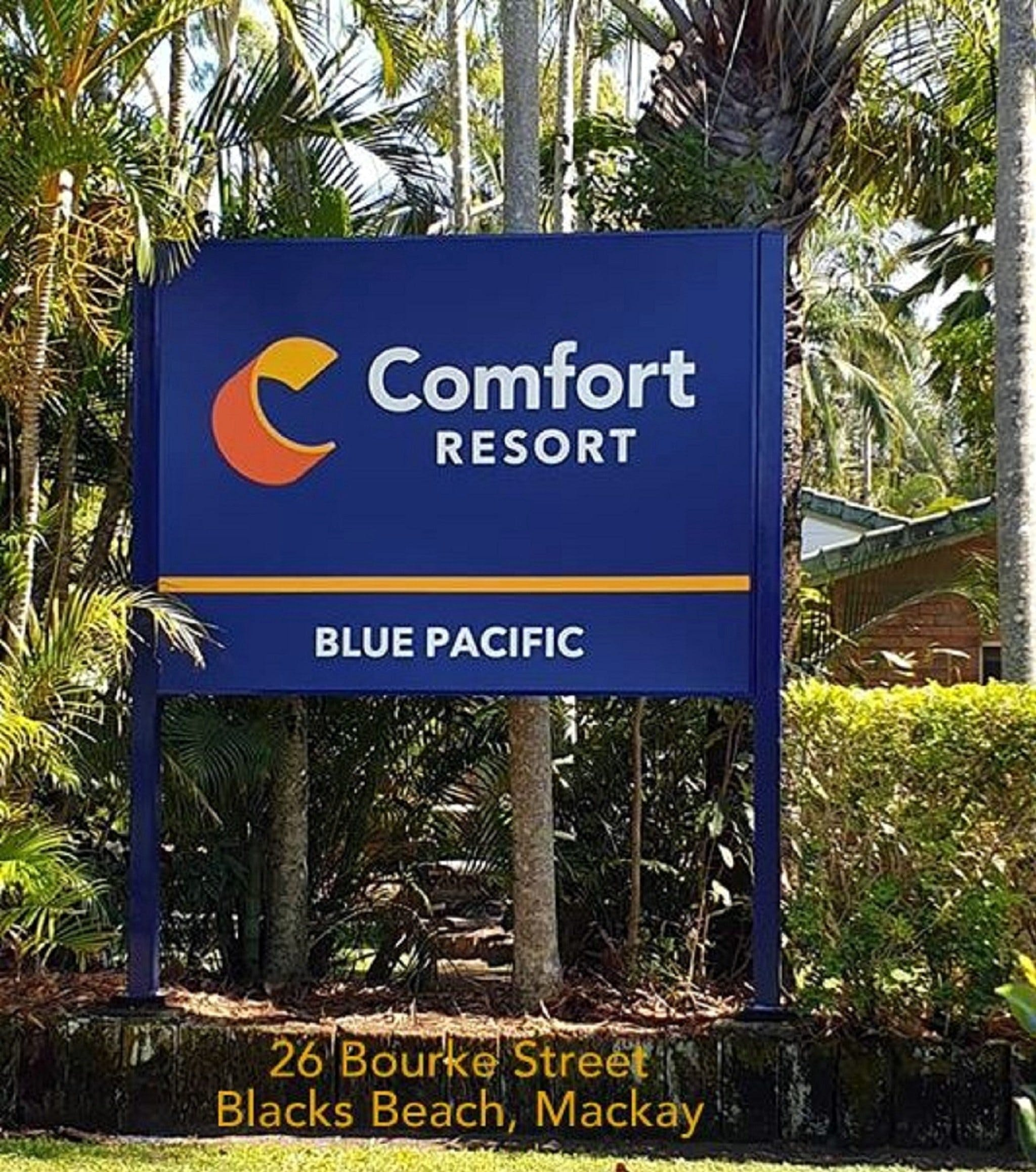 Comfort Resort Blue Pacific - Accommodation Great Ocean Road