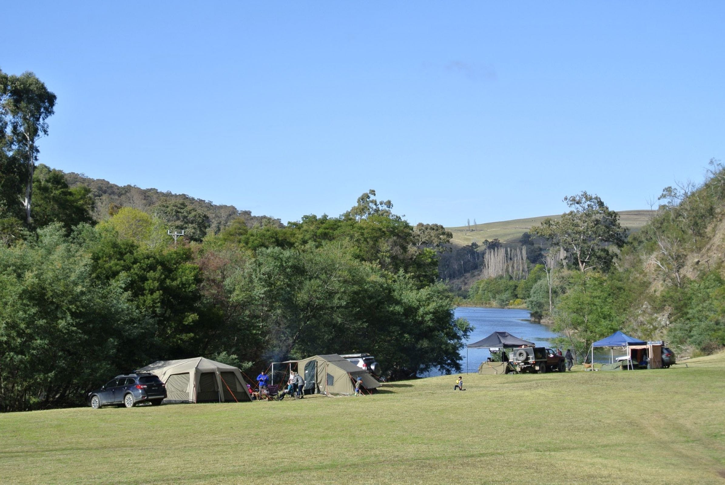 Montana on the Macalister Campground  Caravan Park - Accommodation Great Ocean Road