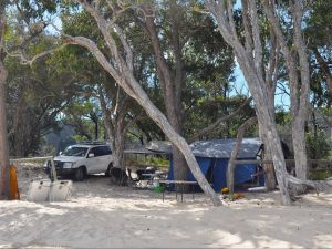 Moreton Island National Park and Recreation Area camping - Accommodation Great Ocean Road