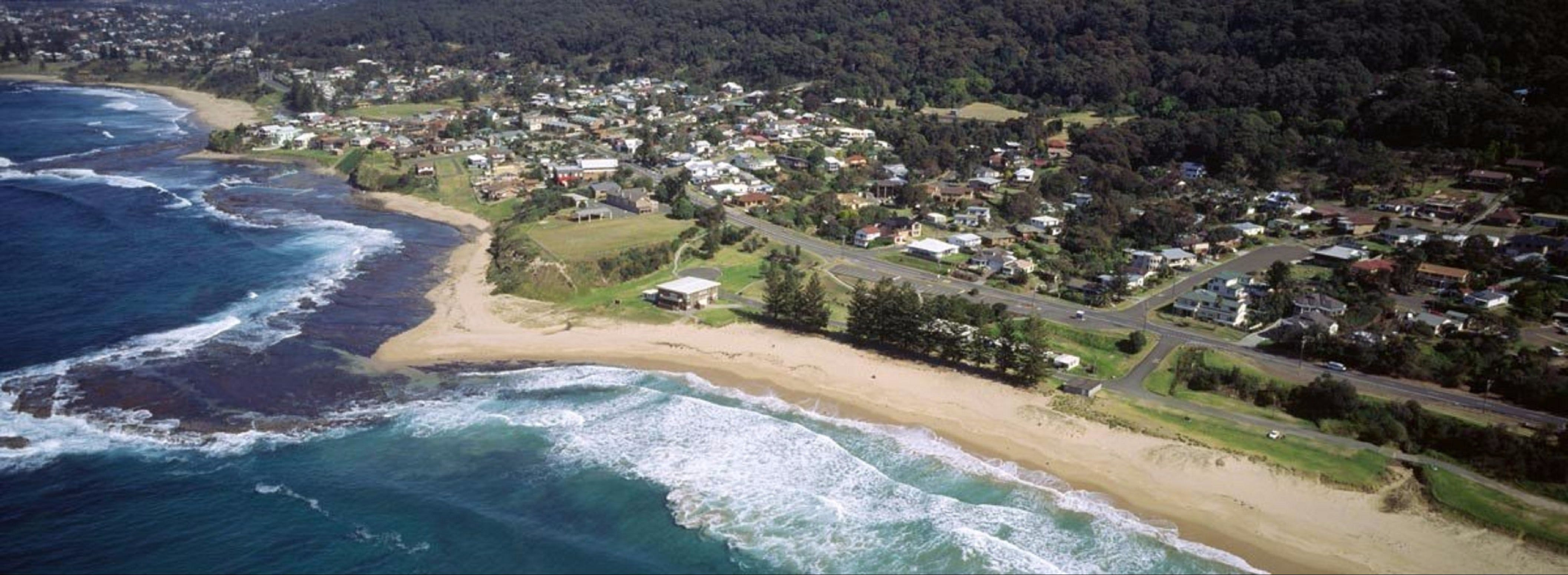 Coledale Beach Camping Reserve - Accommodation Great Ocean Road