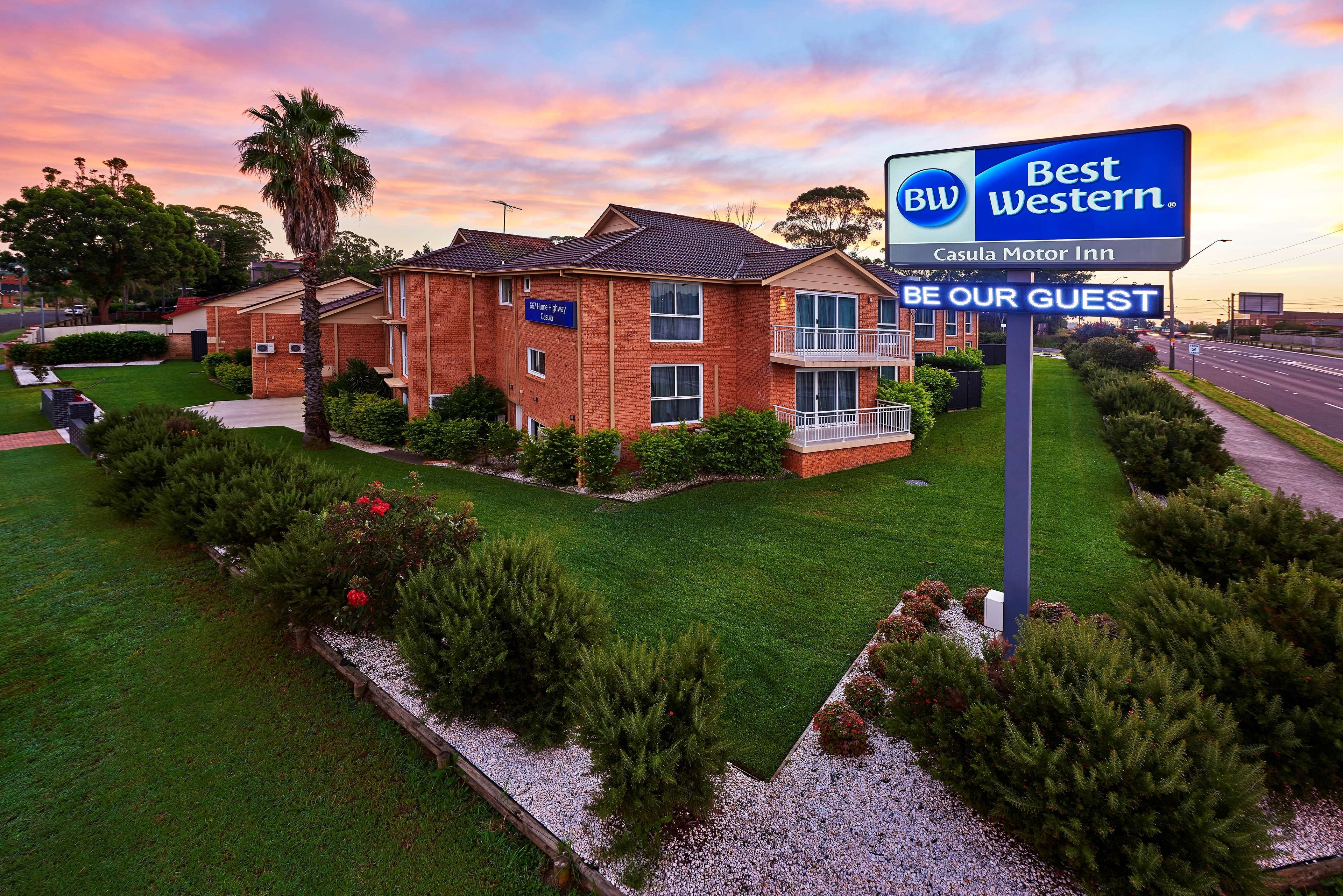 Best Western Casula Motor Inn - Accommodation Great Ocean Road