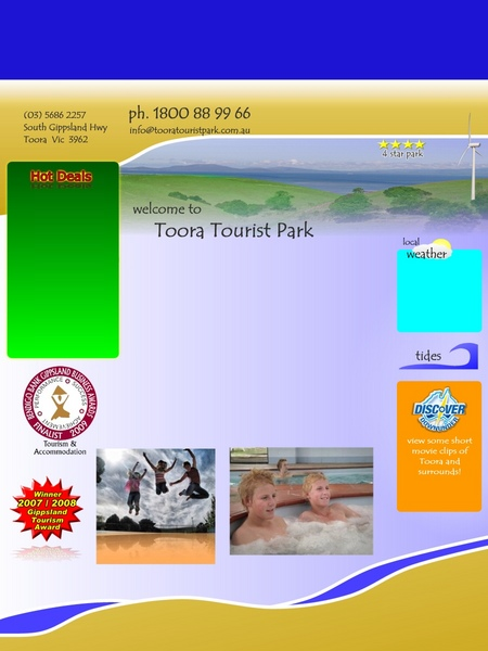 Toora Tourist Park - Accommodation Great Ocean Road