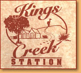 Kings Creek Station - Accommodation Great Ocean Road