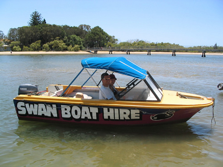 Swan Boat Hire - Accommodation Great Ocean Road