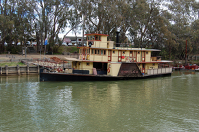 Emmylou Paddle Steamer - Accommodation Great Ocean Road