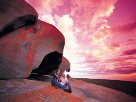 Remarkable Rocks Flinders Chase National Park - Accommodation Great Ocean Road