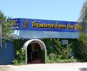 Treasures from the Deep - Opal and Shell Museum - Accommodation Great Ocean Road