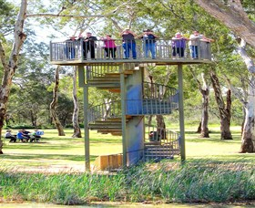 Darling and Murray River Junction and Viewing Tower - Accommodation Great Ocean Road