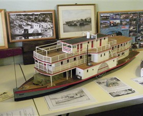 Wentworth Model Paddlesteamer Display - Accommodation Great Ocean Road