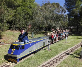 Willans Hill Miniature Railway - Accommodation Great Ocean Road