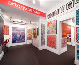 The Artery Aboriginal Art - Accommodation Great Ocean Road