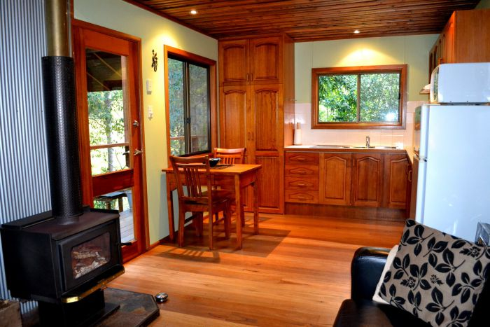Waterfall Hideout-Rainforest Cabin for Couples - Accommodation Great Ocean Road