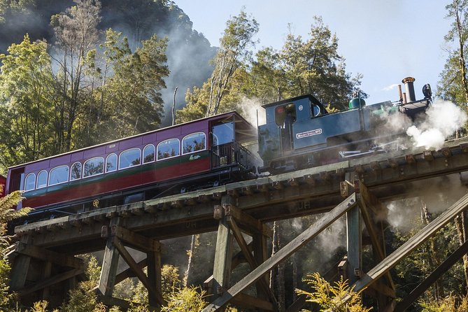 West Coast Wilderness Railway Queenstown Explorer from Strahan - Accommodation Great Ocean Road
