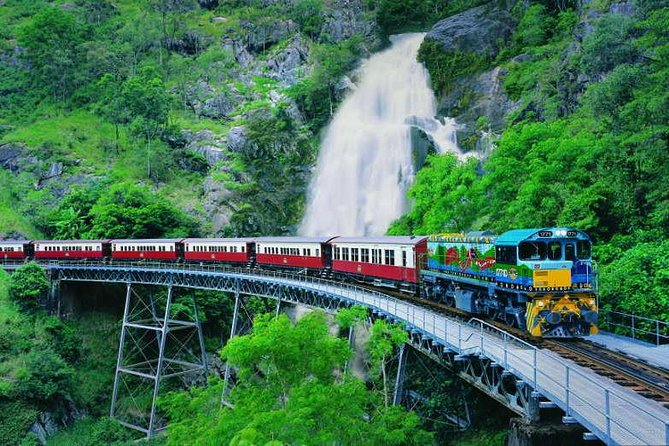 Full-Day Tour with Kuranda Scenic Railway Skyrail Rainforest Cableway and Hartley's Crocodile Adventures from Cairns - Accommodation Great Ocean Road
