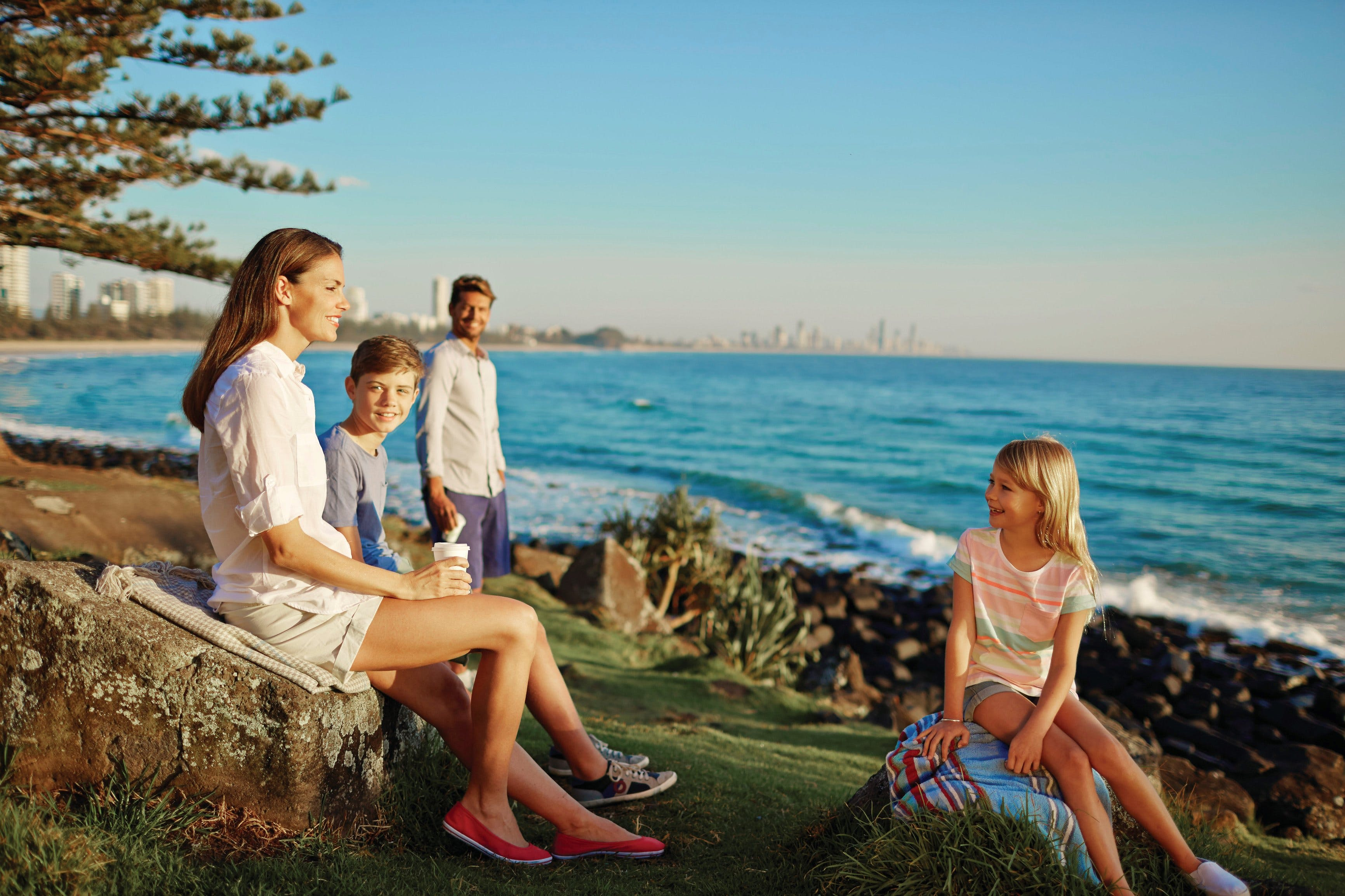 Oceanview Walk Burleigh Head National Park - Accommodation Great Ocean Road