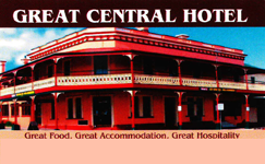 Great Central Hotel - Accommodation Great Ocean Road
