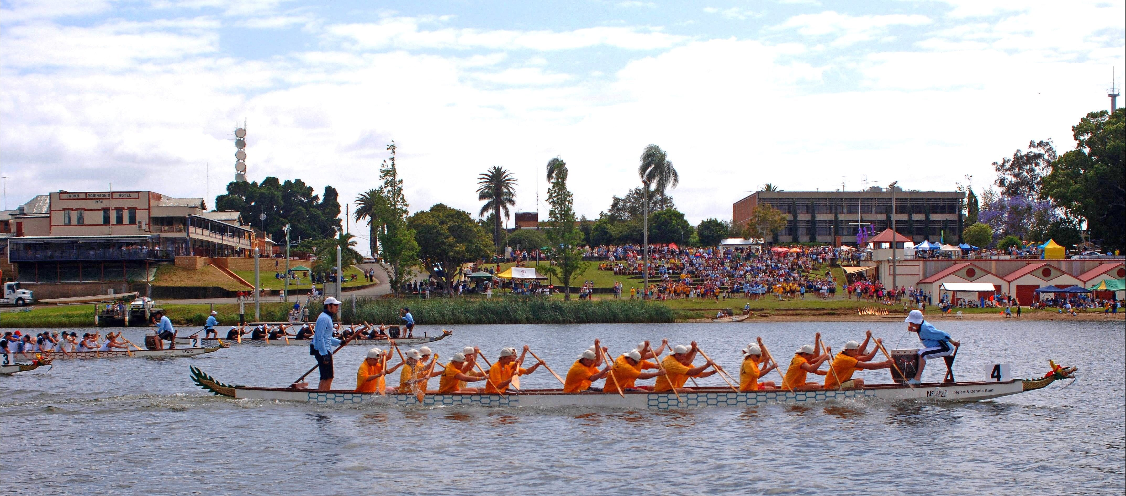 Jacaranda Dragon Boat Races - Accommodation Great Ocean Road