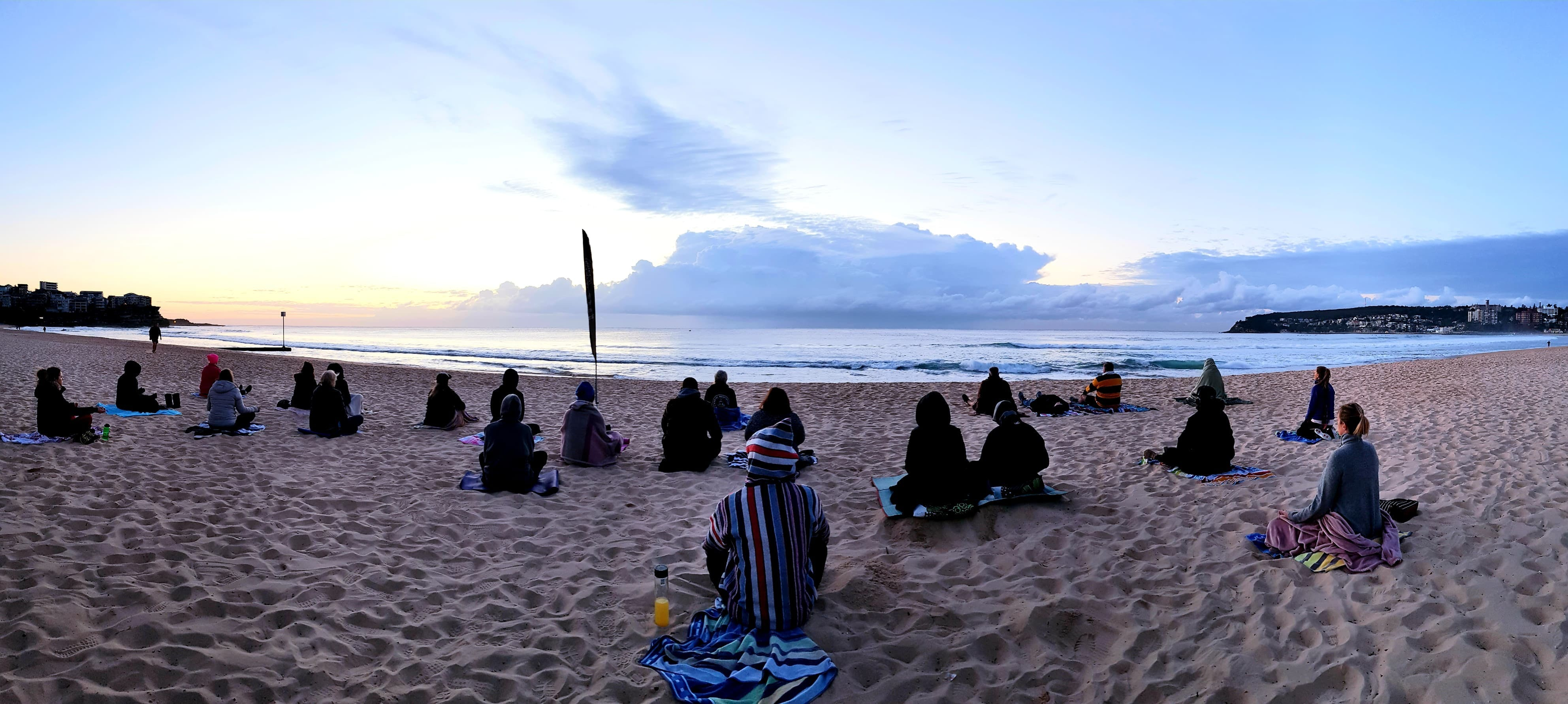 Making Meditation Mainstream Free Beach Meditation Sessions - Avalon Beach - Accommodation Great Ocean Road