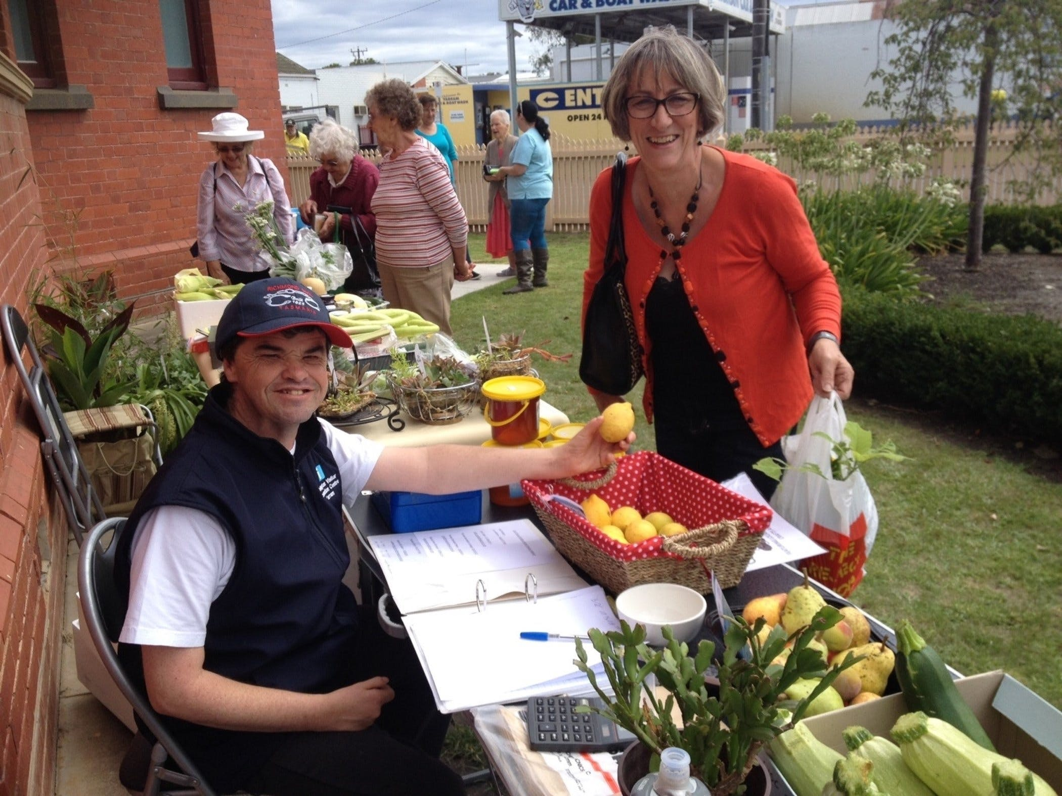 Yarram Courthouse Garden Produce Market - Accommodation Great Ocean Road