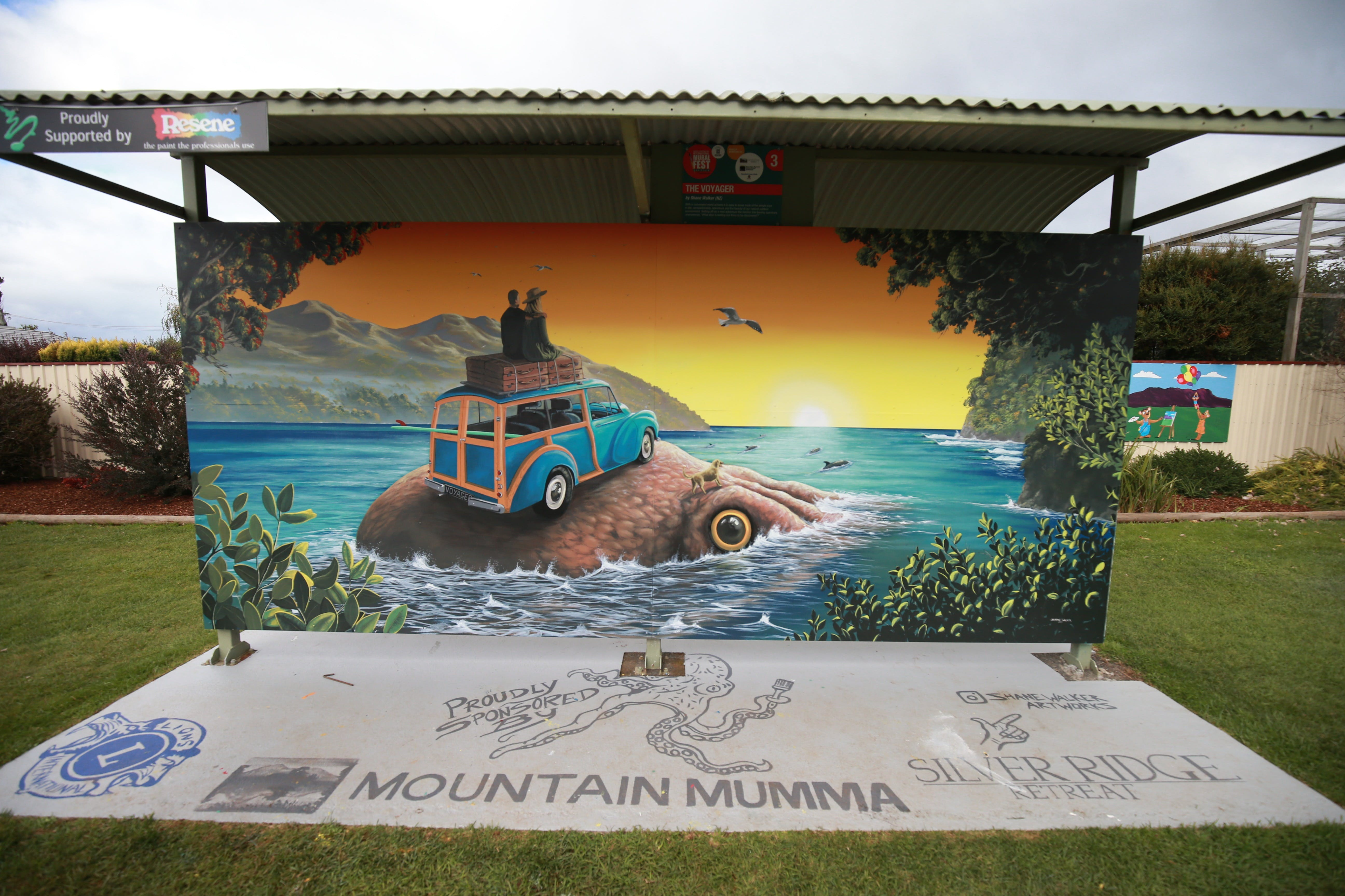Davies Construction International Mural Fest - Accommodation Great Ocean Road