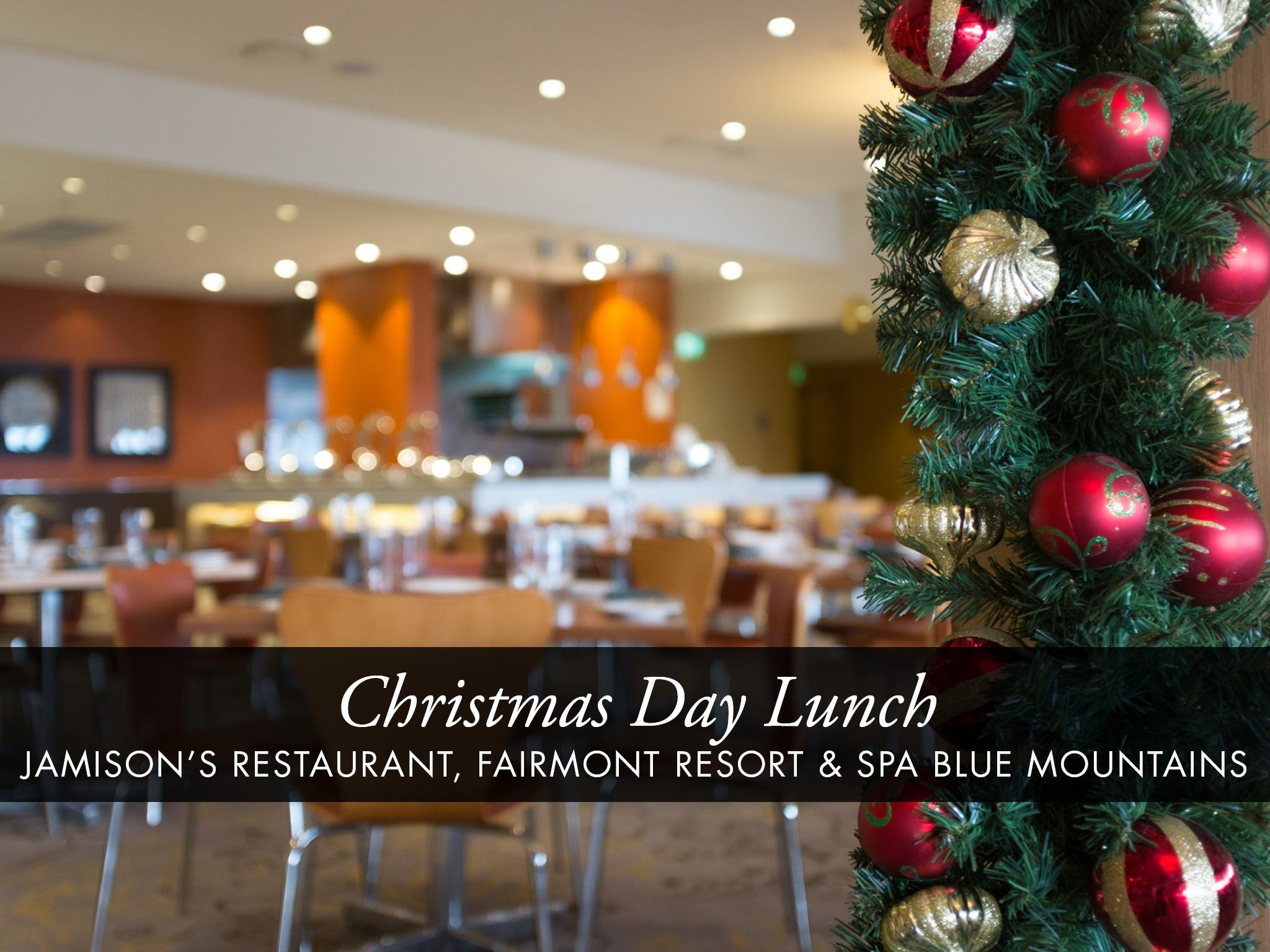 Christmas Day Buffet Lunch at Jamison's Restaurant - Accommodation Great Ocean Road