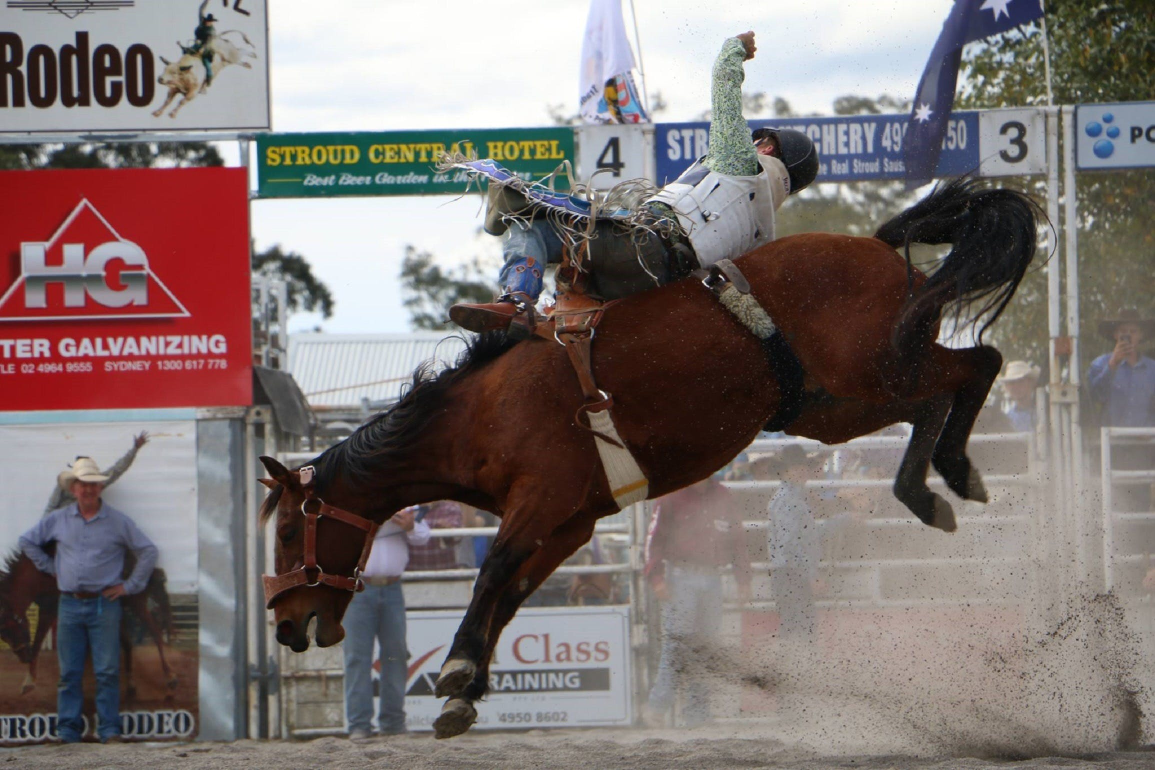 Stroud Rodeo and Campdraft - Accommodation Great Ocean Road