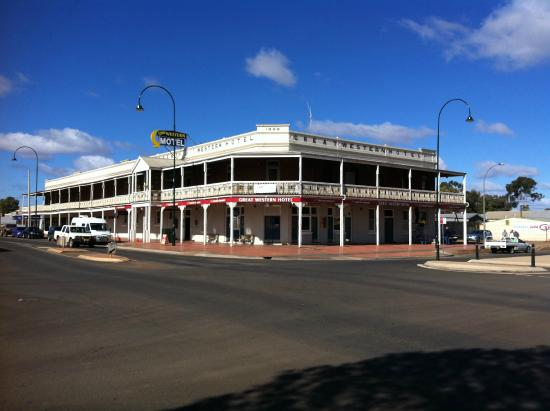 Great Western Cobar Hotel-Motel - Accommodation Great Ocean Road